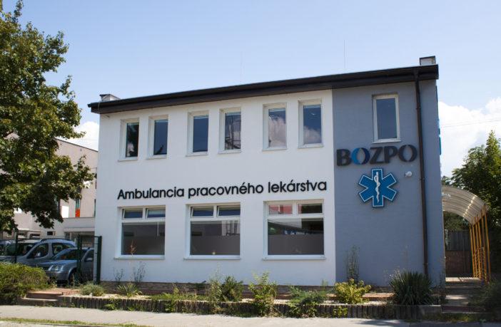 Ambulancia pracovneho lekárstva BOZPO - Šumperská 44 Prievidza - 1