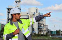 Bezpečnostnotechnická služba ukážka pracovníka vykonávajúceho prácu v oblasti bozp