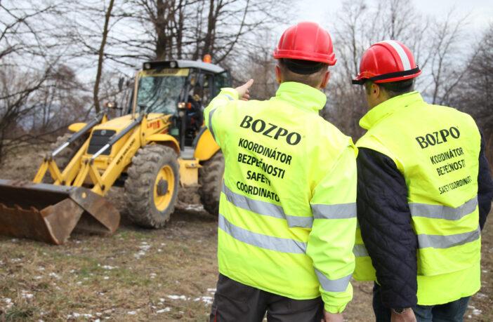 Spoločnosť BOZPO, s.r.o. zabezpečuje koordináciu bezpečnosti na stavenisku
