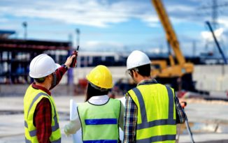 Safety coordination on construction site